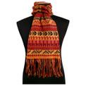 Llamitas Scarf 100% Alpaca Hand Knit Peru Bolivia