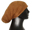 Slouchy 100% Alpaca Natural Colors Slouchy Over Sized  Beanie Hat for Women / Men Fall Winter School