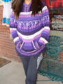 Casual Lounce Hoodie Sweater Alpaca Wool Blend