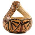 """Gourd Basket Shape Carving 5"""""""