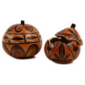 Gourd Box - Geometric Designs Intricate 5""