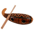 Huiro Instrument Gourd from Peru Artisan Crafted (600)