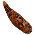 "Gourd Rainstick 10-12"" Carving Rattle"