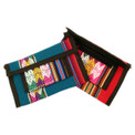 "Purse Wallet Assortment with Zipper and Velcro 8"" x 5"""