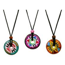 Clay Doughnut String Necklace
