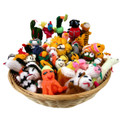 Finger Puppets Assortment Bag of 50 Peru (43)