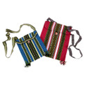 "Huallhuas Wool Shoulder Tote Bag Small 7"" x 9"""