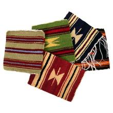 "Coasters 100% Wool 5"" x 5"" Assortment Hand Woven Peru"