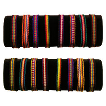 Friendship Bracelets - Woven Cotton Peru Cuzco
