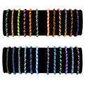 Friendship Bracelets - Tube Bag of 50 Assorted Wholesale