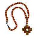 Clay Chacana Beaded Cross