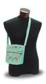 "Colca Canyon Embroidered Bag 10"" x 10"" Zippered"