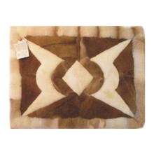 Alpaca Fur Rug - Design 08