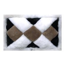 3' x 4' Alpaca Fur Rug Mat 1/2 Size- Design 27