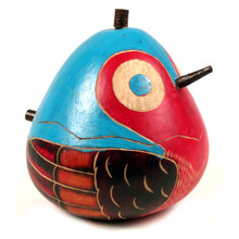 Gourd Bird Box w/ Beak and Tail
