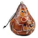 Gourd Angel Ornament