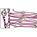 Friendship Bracelets Beaded - Peace Sign
