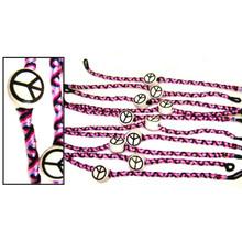 Friendship Bracelets Beaded - Peace Sign