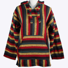 Baja Shirt Recycled Fibers Stripes Hoodie Color Assortment XX-Large