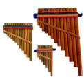 Pan Flute # 3 Jumbo Large packaged Peru ( 400)