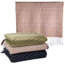 Fine 100% Alpaca Luxury Woven Blanket