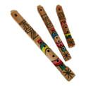 """Wooden Tarka Flute 11"""" Large Carved Peru (220)"""