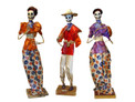 "Assortment of Paper Mache Figures 14"" Tall"