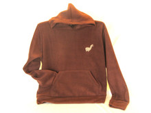 Jacket Light Hoodie Baja Blend 50% Alpaca 50% Acrylic Chocolate (15)