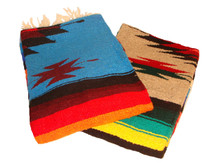 """Medallion blankets are easy on the eyes and very cozy 56"""" x 86"""""""