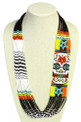 Dia De los Muertos Beaded Necklace NE603