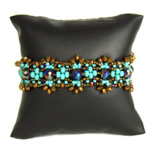 Turquoise and Bronze Bracelet BR186-131