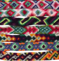 Hand Loomed Friendship Bracelets Wool