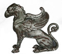 Griffin Mythical Creatures L-23″ x W-9″ x H-23″
