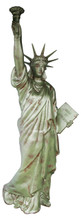 Bronze Oxidized Large Statue of Liberty