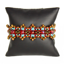 Red and Turquoise Bracelet BR186-138