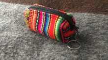 "Tube Coin Purse and Lipstick Holder Multi-use Little Bag 2"" x 3.25"""