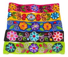 Embroidered Headband Assortment Wool Woven