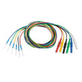 019-475900 Nicolet - Viasys Electrode Disposable Subdermal with DIN Connector, Stainless Steel 1.5M ,  6 Colors, 24 Per Pack