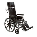 "pla416rbdfa Drive Medical Viper Plus GT Full Reclining Wheelchair, Detachable Full Arms, 16"" Seat"