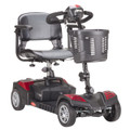 sfscout4-ext Drive Medical Scout Compact Travel Power Scooter 4 Wheel Extended Battery