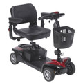sfdst4 Drive Medical Spitfire DST 4-Wheel Travel Scooter