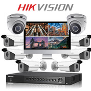 8 Hikvision 5MP Hikvision with TURBO HD DVR