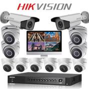 12 Hikvision 5MP TurboHD CCTV IR CAMERA kit FULL HD DVR Recorder