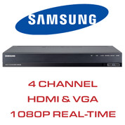 Samsung 4 Channel DVR with HDMI and VGA Output