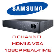 Samsung 8 Channel DVR with HDMI and VGA Output