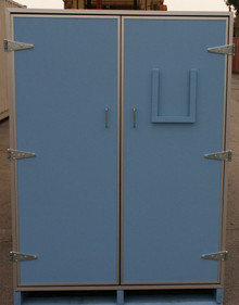 8/70 Large Format Horizontal Reel Storage (24 Units) - Exterior View