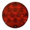 "1-1020-9000, Weldon LED 7"" Round Warning Light (Red)"