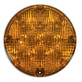 "2-1020-9000, Weldon LED 7"" Round Warning Light (Amber)"