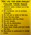 SB42A, Follow These Rules (1-10)