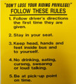 Follow These Rules (1-5)